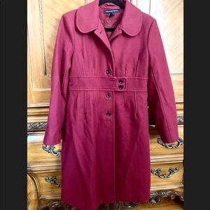 French Connection 70%Wool Coat